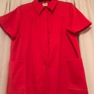 Vintage Shirley of Atlanta button down shirt